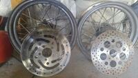 Harley-Davidson rims with or without disc brakes