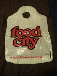 Collector shopping bag from 1974 Toronto, M1P 5C5