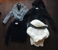 Jacket-coat Haul - All four for $40 Vancouver, V6P 0C9