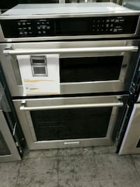 "Kitchen aid 30"" microwave oven combo"