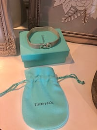 "Tiffany and Co. Somerset Buckle Bracelet. Measures 7.25"". I not Negotiable! Mississauga"