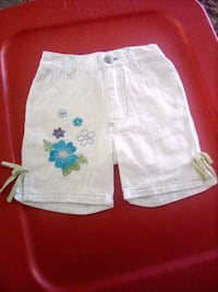 white and blue floral shorts West Reading, 19611