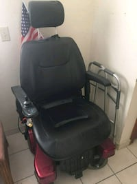 black and red motorized wheelchair Edinburg, 78539