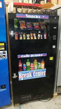 Combination vending machine fully working