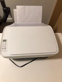 HP printer, with ink loaded