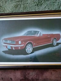Signed Automobile Art San Antonio, 78230