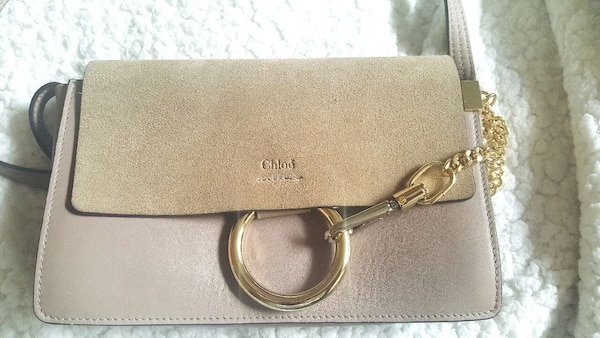 8dd6a65670ff Used Chloé Authentic Suede   Leather (Calfskin) Small F for sale in ...