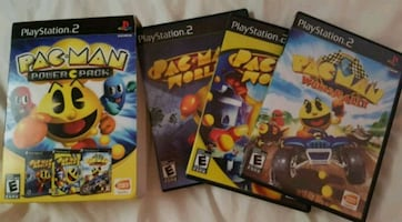 PS2 PACK MAN 3 GAME POWER PACK