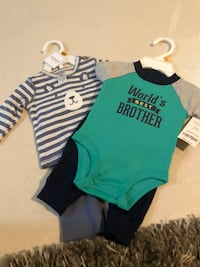 15 dllr for both new born size new with tags Brownsville, 78526