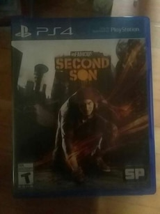 Sony PS4 Second Son case