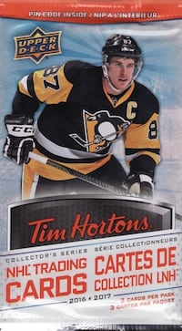 2016-2017 Tim Hortons Hockey Cards Toronto, M3J 1L6