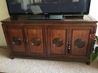 Rose wood Chinese cabinet  Vancouver, V6M 4B7