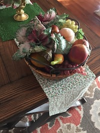 Basket of fruits and vegetables. Makes a lovely addition on counter West Bloomfield Township, 48324