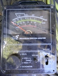 Old Sears breakerless ignition analyzer Mesa