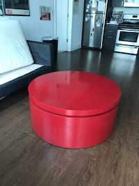 Red coffee table  Chicago, 60605