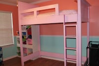 Loft bed & Bookcase MANASSAS