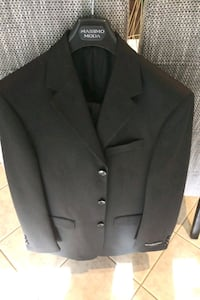 Men's Black Suit -Massimo Moda-38\32 New Milton, L9T 7H5