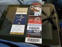 Sports ticket stubs