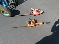 two orange and black hedge trimmers Vista, 92084