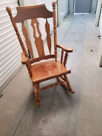 brown wooden rocking chair Fairbanks, 99701