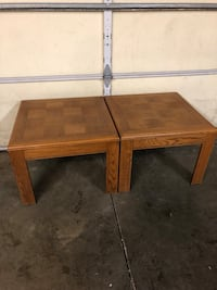 Checkered End table  Newark, 43055