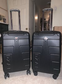 Black Hardcover Luggage Suitcases  Toronto, M3J 2W6