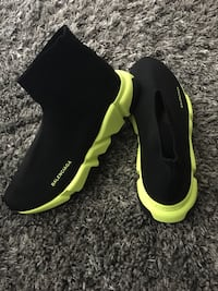 Balenciaga Black And Yellow Speed Men Size 10 New Orleans, 70121