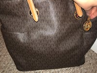 black Michael Kors monogram leather handbag Fairfax, 22030