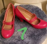 Red mary Jane heels Bunker Hill, 25413