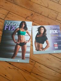 Workout dvds from 21 day fix  Vancouver, V5X 4J7