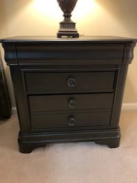 Charcoal Segars 3 Drawer Nightstand Columbia, 21044
