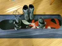 Snowboard, bindings, and size 10 boots Vancouver, V6J 1K8