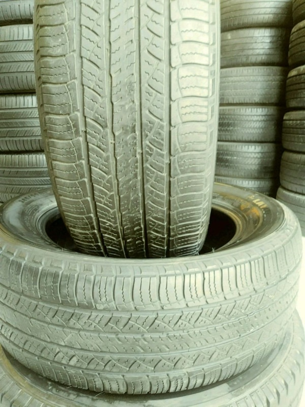 Used Tires San Jose >> 2 Used Tires 245 60 18 Michelin