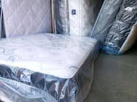 Double mattress pocket coil. Delivery available  Edmonton, T5J 1C8