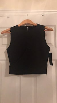 Black top from Zara. New with tag still attached. Size small. Ajax, L1T 0K1