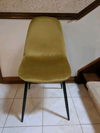 Dining Chair, yellow