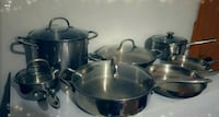 stainless steel cooking pot set Lincoln, 68503