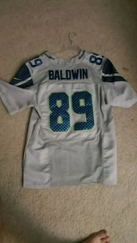 white and blue 88 jersey shirt Pacific, 98047