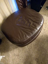 brown leather bean bag chair Germantown, 20874