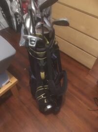 Golf clubs (Taylormade irons, assorted woods and wedges) Boston, 02134
