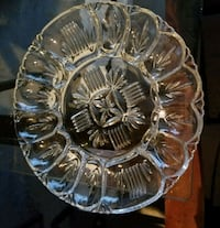 clear cut glass bowl with lid Vaughan, L4L 3V6
