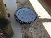 """Mosaic side outdoor table top 27"""" please disregard the title of bull white  Manahawkin, 08050"""