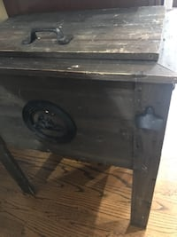 black and brown wooden chest Chicago