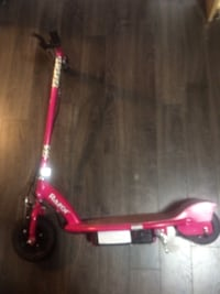 Pink radon electric scooter Penhold, T0M