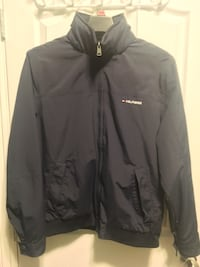 Navy Windbreaker with removable hood Burnaby, V5G 1T9