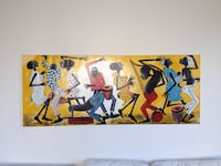 African painting Malmö, 216 19