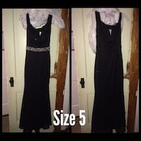 Two black scoop-neck sleeveless maxi dresses North Middleton, 17013