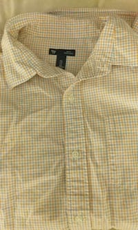 yellow button up collared shirt 327 mi