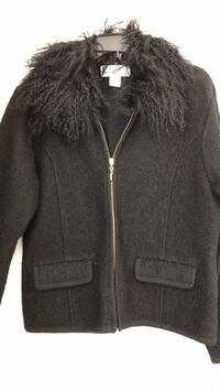 black boiled wool  jacket Coram, 11727