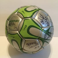 SFU Saint Francis University (PA) Team Auto/Signed Brine NCAA Soccer Ball Size 5 Upper Yoder, 15905